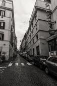 Řím - 6. ledna: Ulice v Římě, Starověký Řím 6, 2016 v Římě, Itálie