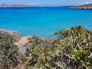 Gorgeous Cretan Sea. Seascape, blue water