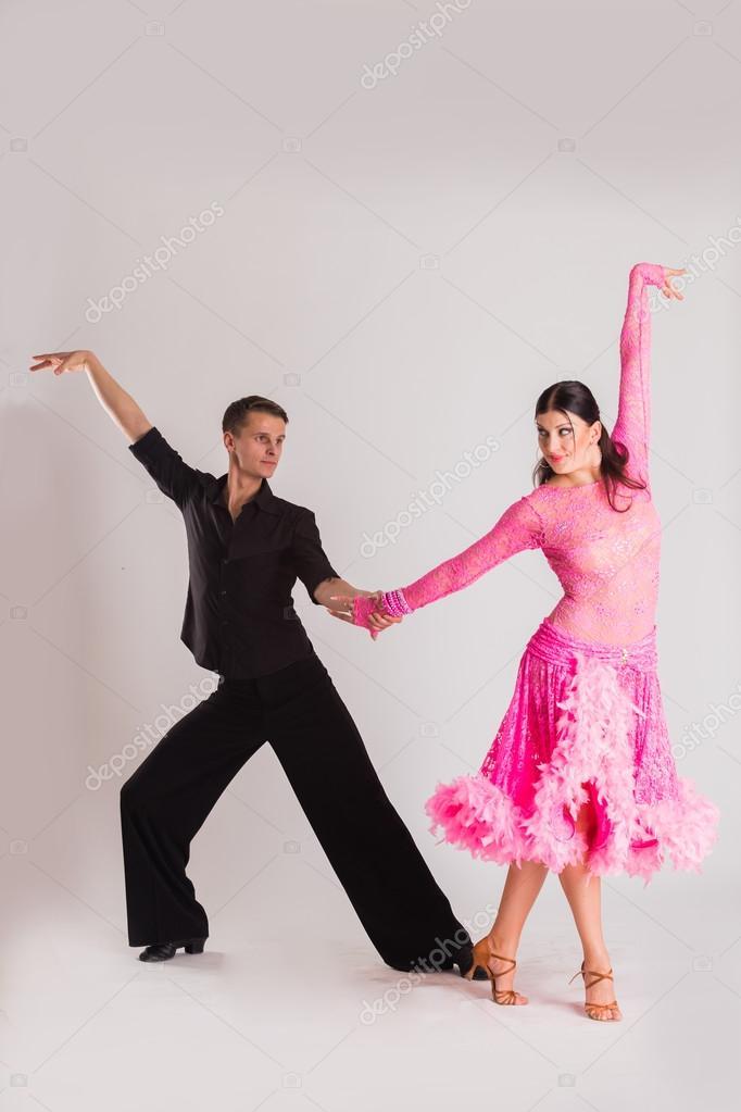 Ballroom Dancers In Dancing Poses Stock Photo C Aallm 68815833