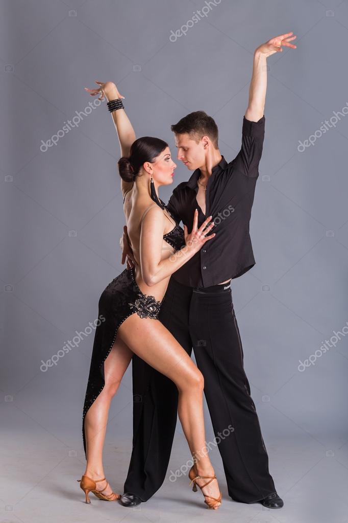 Pose Ballerini Foto Stock Di Da © — Aallm72329255 Sala In Dancing OlPiZwXukT