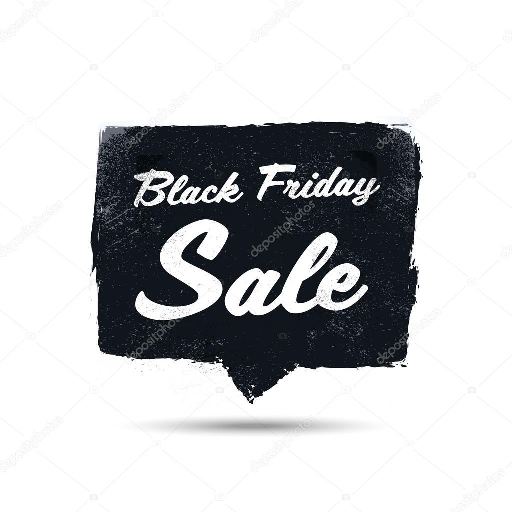 Negro viernes venta cartel promocional con fondo de vector marco de ...