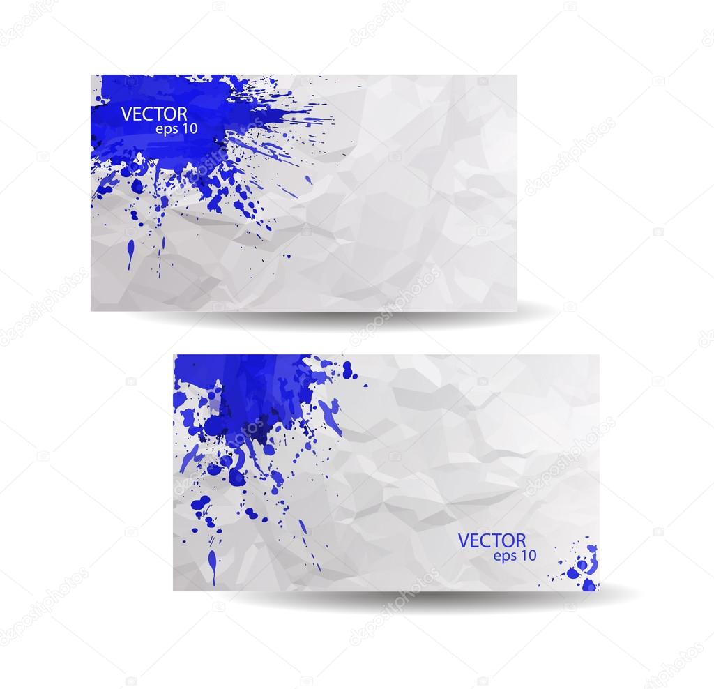 Business cards template stock vector inna73 55204269 abstract spray paint colorful watercolor vector by inna73 colourmoves