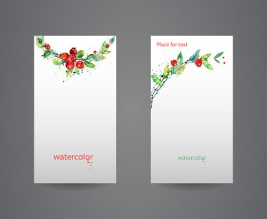 Business cards template.