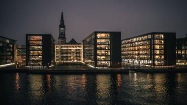 Urban buildings in Copenhagen