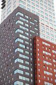 moderní budova v Rotterdamu