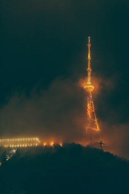 Night view of  TV-tower