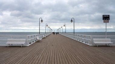 Beautiful retro pier