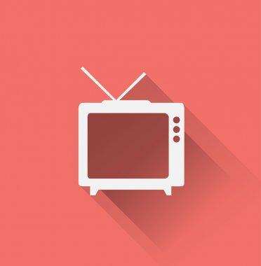 tv, television icon