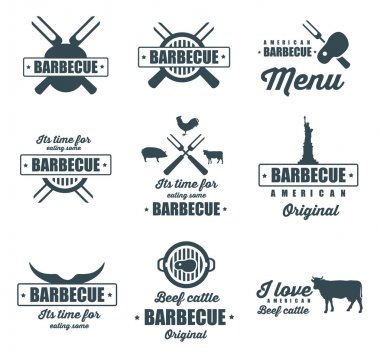 barbecue, grill icons