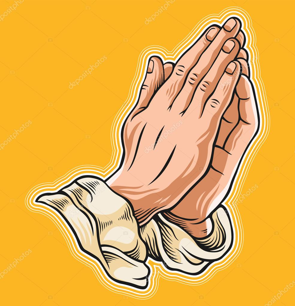 depositphotos_100913598-stock-illustration-prayer-hand-vector-illustration.jpg (985×1023)