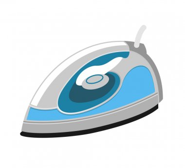 Vector flat iron icon