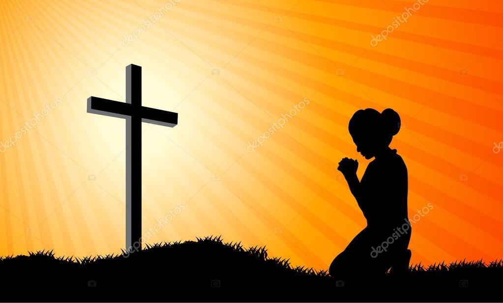 Image result for imagen de mujer arrodillada orando