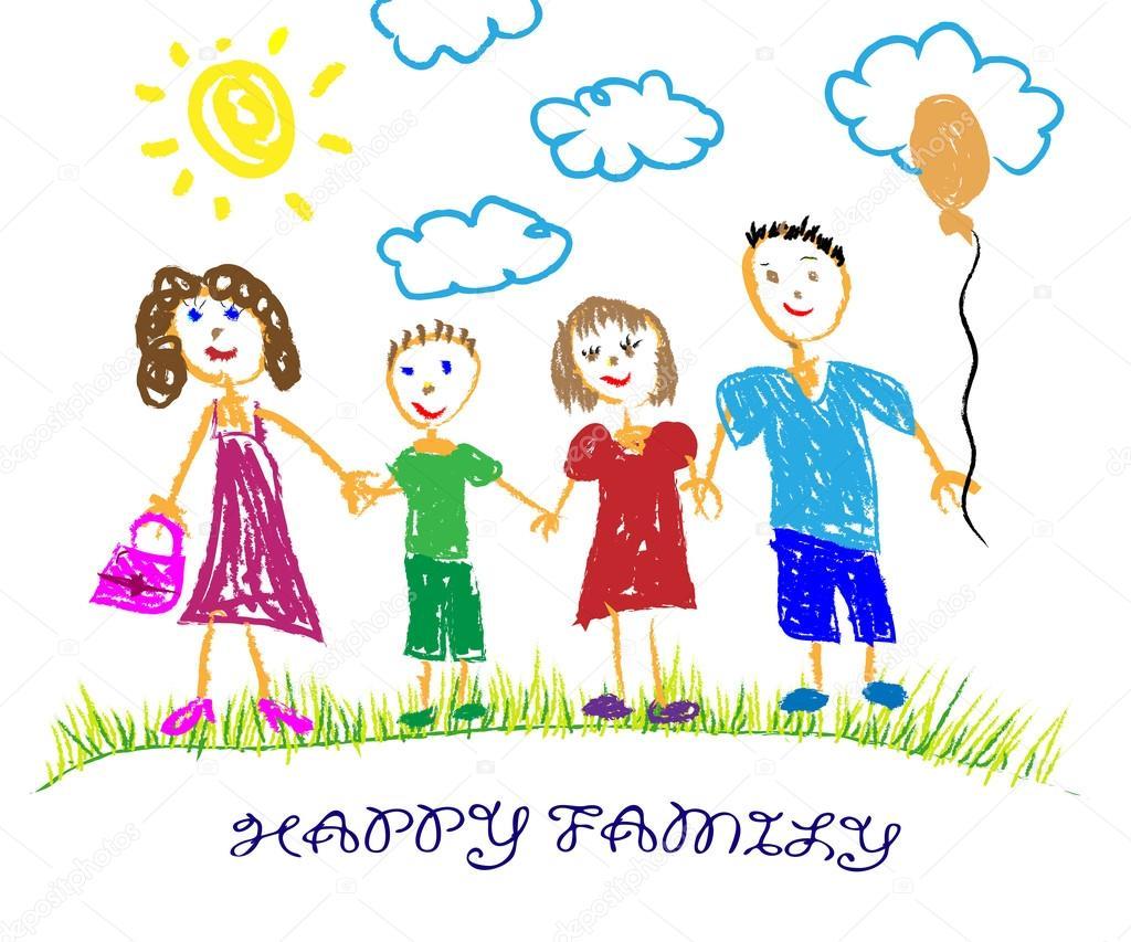 """Képtalálat a következőre: """"vidám család rajz"""""""