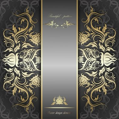 luxury silver background