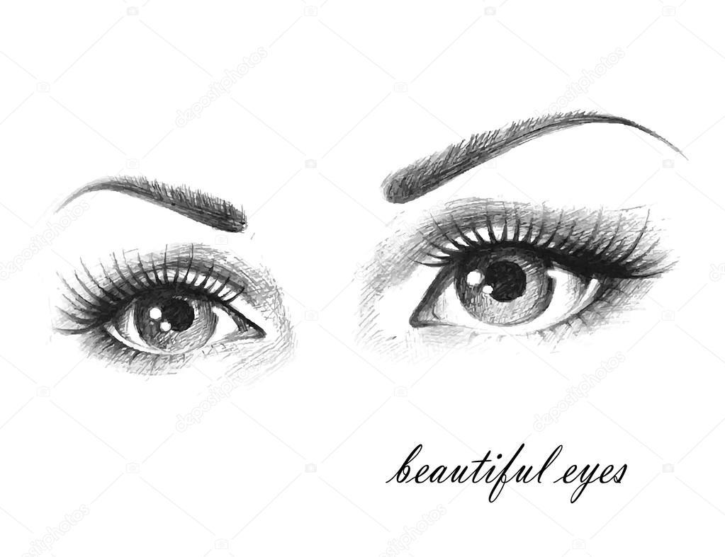 Imágenes Ojos Bonitos Animados Ojos Hermosos Vector De Stock