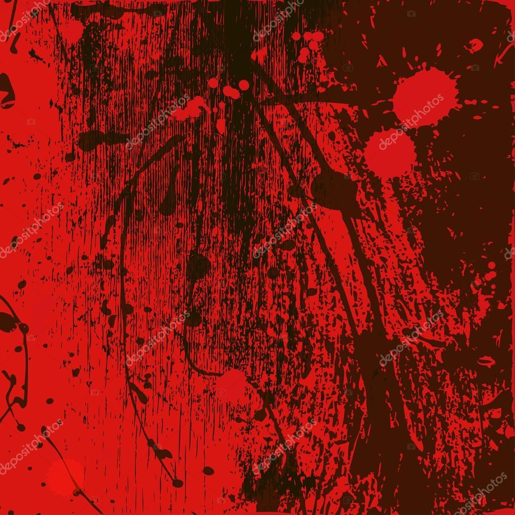 Fondo Rojo-negro Con Manchas
