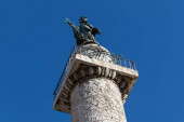 The Column of Trajan is a commemorative monument erected in Rome by order of the Emperor Trajan. It was built in 113 AD.