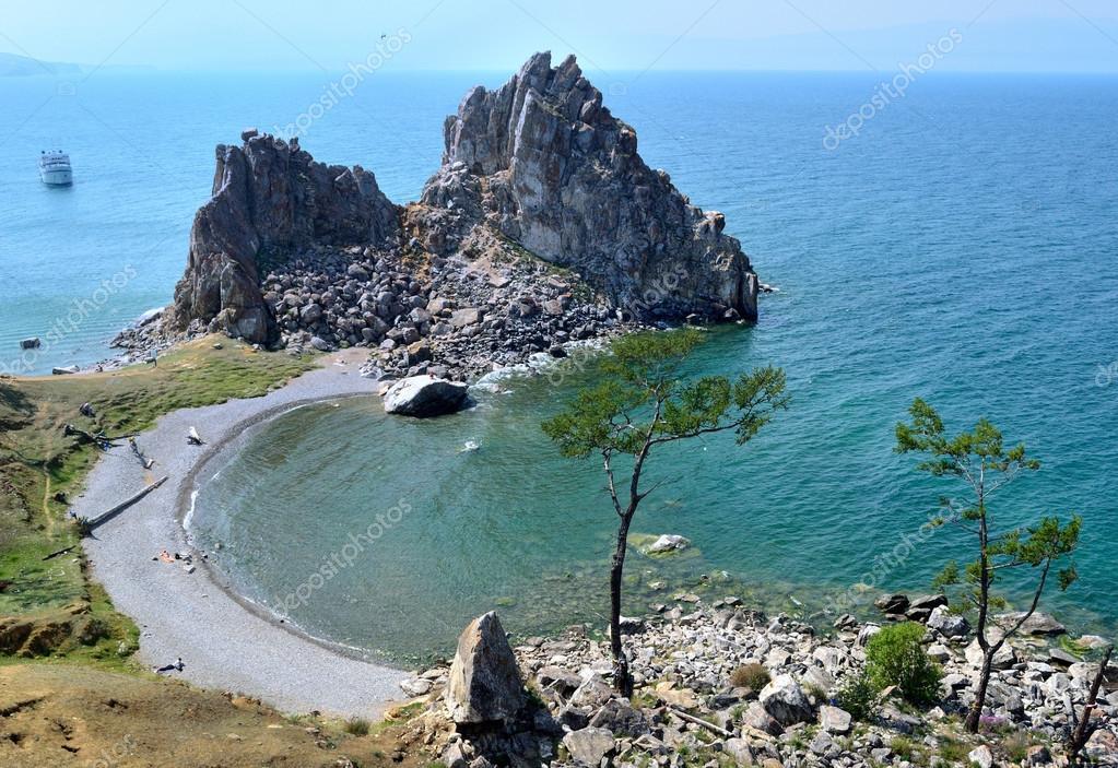 Mount Shamanka on Olkhon Island on Lake Baikal