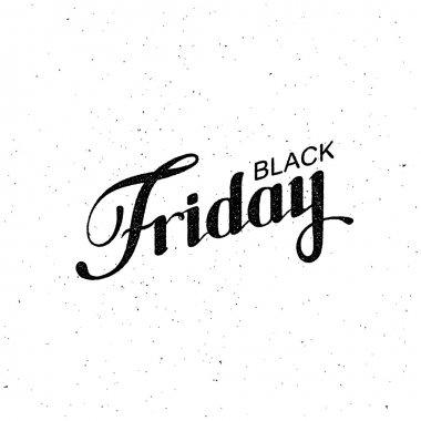 Black Friday Sale label.