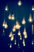 Fényképek Luxus világítás dekoráció modern design