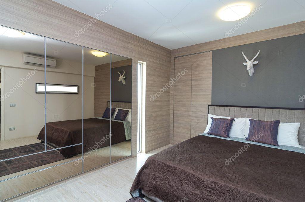 Luxus Schlafzimmer Interior Moderne Architektur U2014 Stockfoto