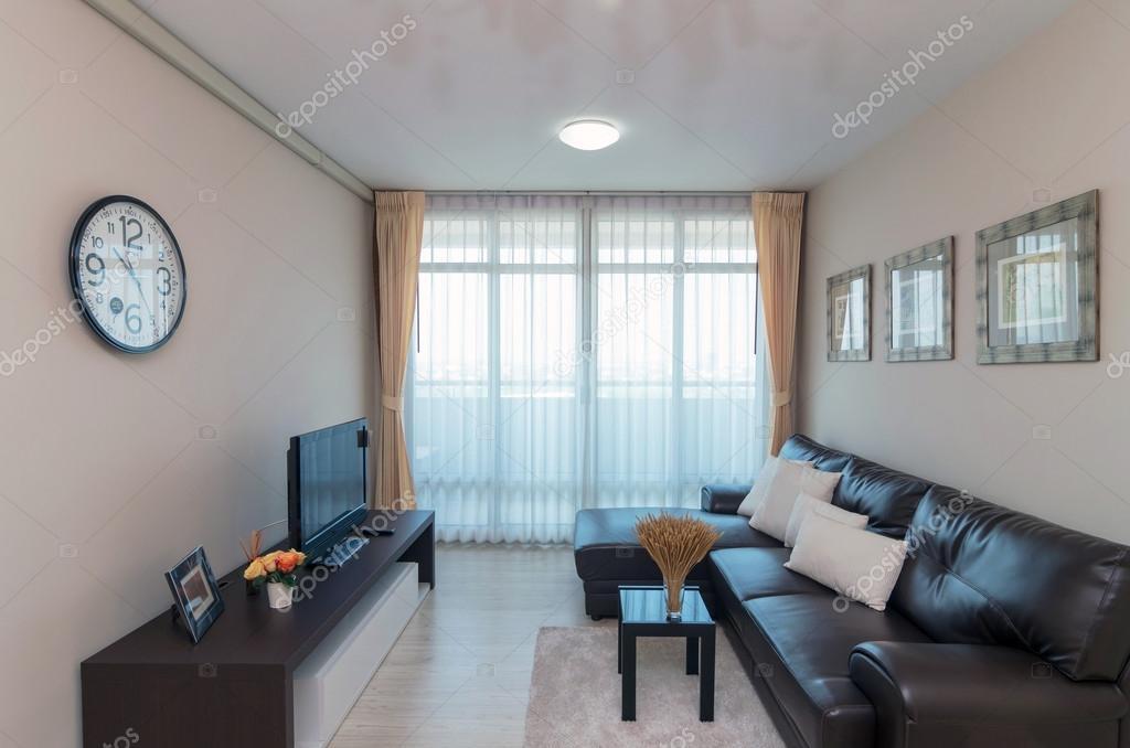 Lujo diseño Interior living comedor — Foto de stock © Tzido #87004290