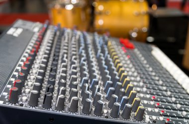 Digital music equipment, music mixer with track