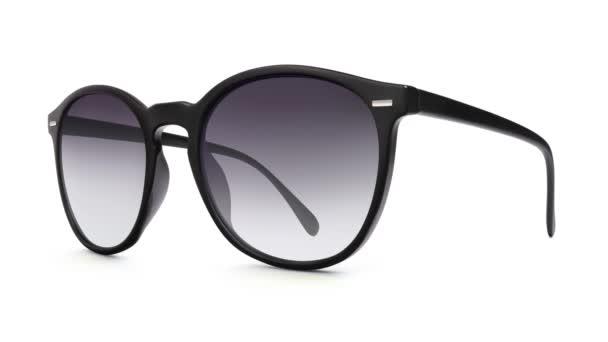 verschiedene Mode Sonnenbrillen isoliert auf weißem Hintergrund