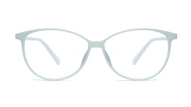 Brýle izolované na bílém pozadí