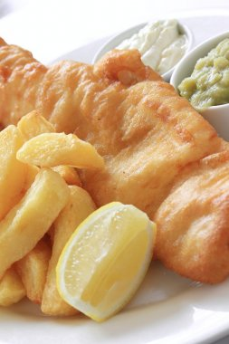 fish and chip dinner