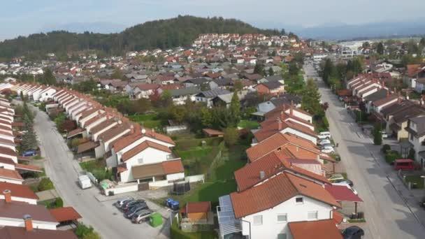Suburban row houses