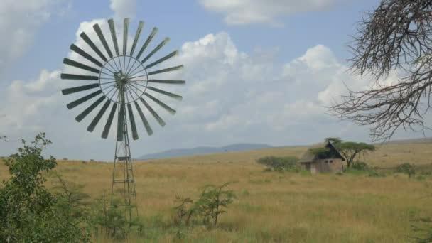 Starý větrný mlýn předení