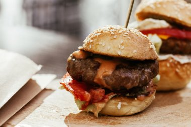 Mini Burgers Sliders