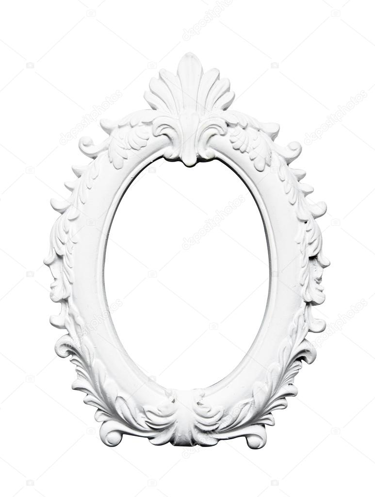 Ovale Jahrgang Kunst Rahmen — Stockfoto © kittimages #118439384