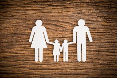 paper chain family symbolizing