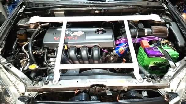 Toyota vios autó motor SMX kongresszusi központ, Pasay, Fülöp-szigetek.