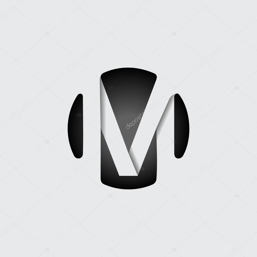 Wielka Litera M Grafika Wektorowa Pgmart 105510244