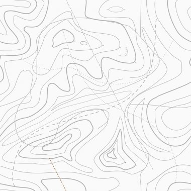 Topographic topo contour map background