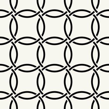 Modern stylish texture seamless pattern