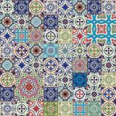 Gorgeous seamless patchwork pattern