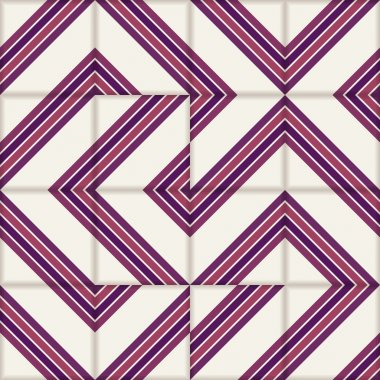 Retro stripe seamless  pattern