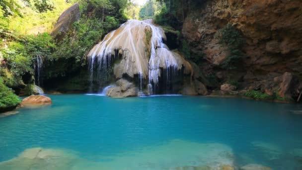 Wonderful waterfall landscape