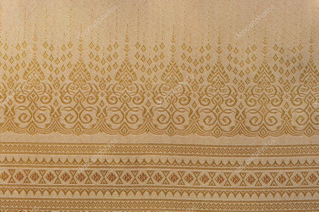 Silks fabric thai 100% Thai