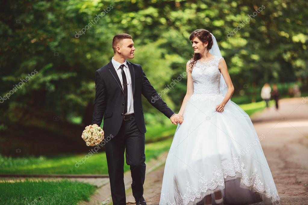 Beautiful Wedding Husband And Wife Lovers Man Woman Bride And Groom Photo By Ostap Davydiak