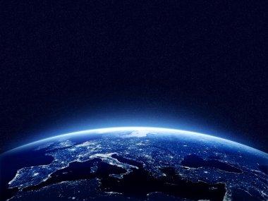 Dünya gece