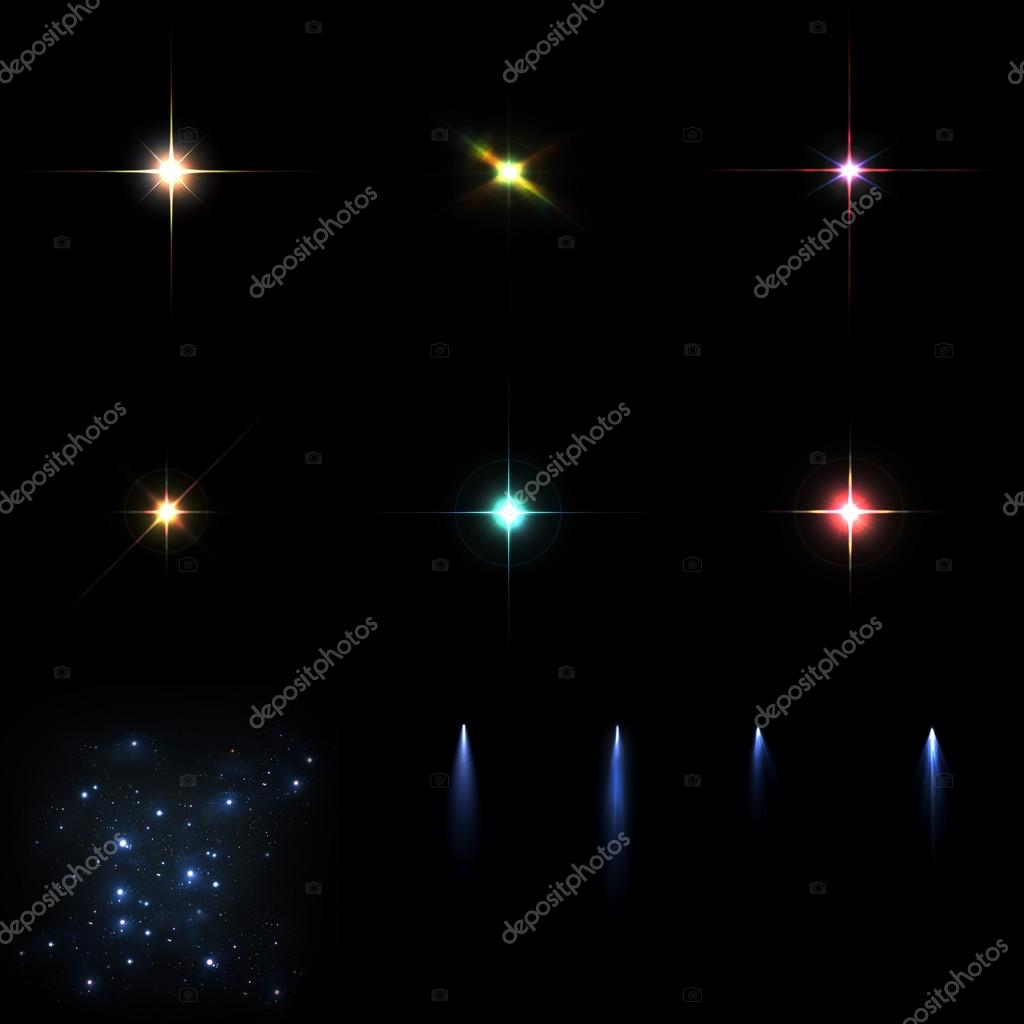 Stars effects and comets
