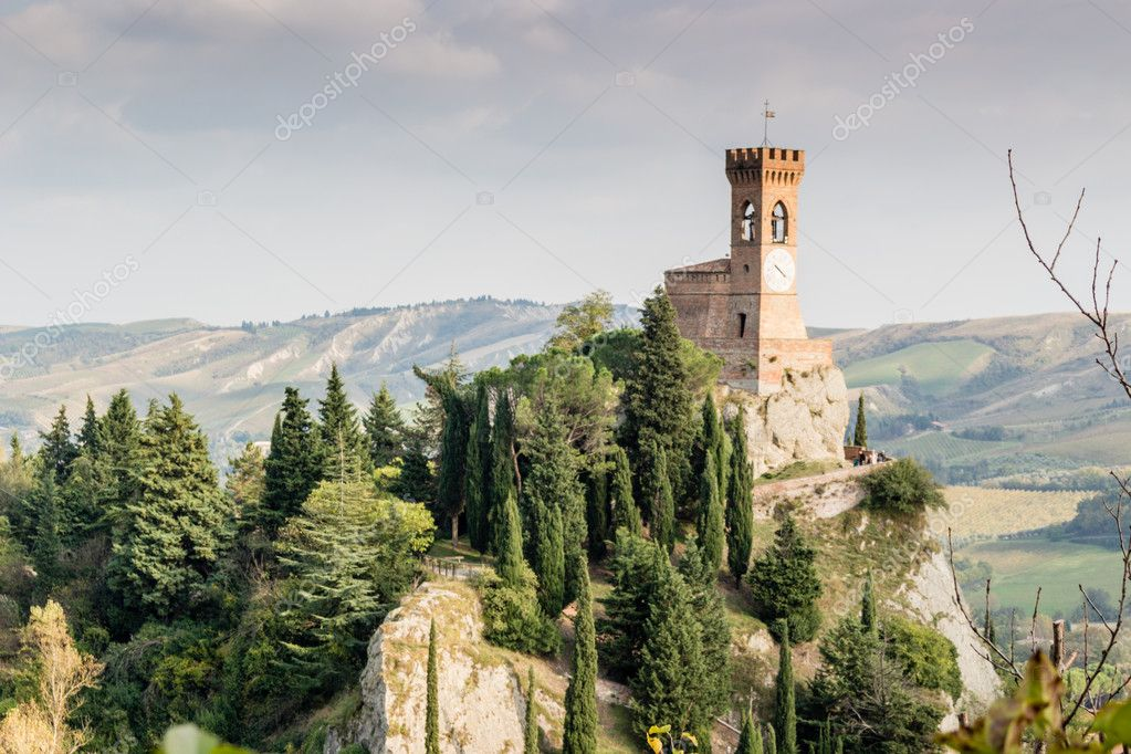 Brisighella medieval clock tower