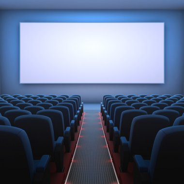 Cinema Screen and chairs