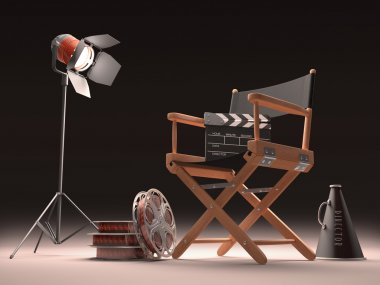 Objects of the film industry