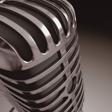 Classic iron microphone